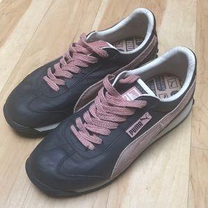 Puma sneakers gray & pink